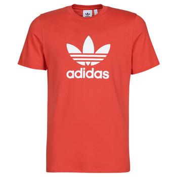 Textil Muži Trička s krátkým rukávem adidas Originals TREFOIL T-SHIRT Červená