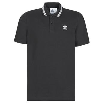 Textil Muži Polo s krátkými rukávy adidas Originals PIQUE POLO Černá