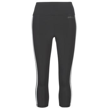 Textil Ženy Legíny adidas Performance D2M 3S 34 TIG Černá