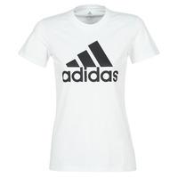 Textil Ženy Trička s krátkým rukávem adidas Performance BOS CO TEE Bílá