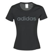 Textil Ženy Trička s krátkým rukávem adidas Performance D2M LO TEE Černá