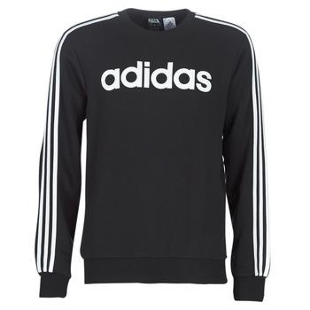 Textil Muži Mikiny adidas Performance E 3S CREW FL Černá