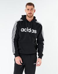Textil Muži Mikiny adidas Performance E 3S PO FL Černá