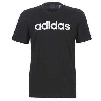 Textil Muži Trička s krátkým rukávem adidas Performance E LIN TEE Černá