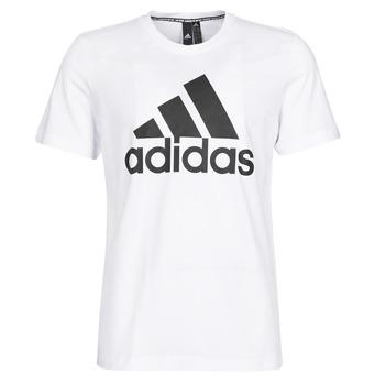 Textil Muži Trička s krátkým rukávem adidas Performance MH BOS Tee Bílá