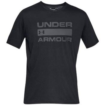 Textil Muži Trička s krátkým rukávem Under Armour Team Issue Wordmark Černé