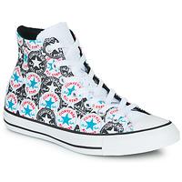 Boty Ženy Kotníkové tenisky Converse Chuck Taylor All Star Logo Play Bílá / Černá