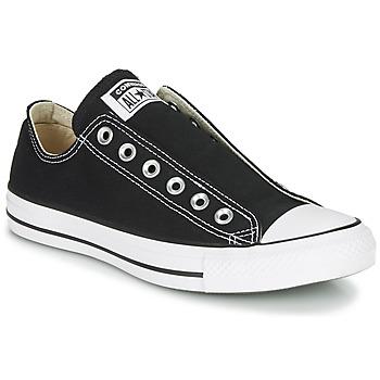 Boty Ženy Street boty Converse CHUCK TAYLOR ALL STAR SLIP CORE BASICS Černá