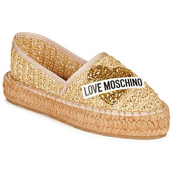 Boty Ženy Espadrilky  Love Moschino JA10393G0A Béžová