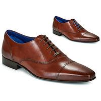 Boty Muži Šněrovací společenská obuv Azzaro DOGME Zlatohnědá
