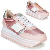 Boty Ženy Nízké tenisky Victoria COMETA DOBLE METAL Růžová