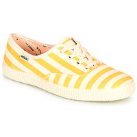 Boty Ženy Nízké tenisky Victoria NUEVO RAYAS Žlutá / Bílá