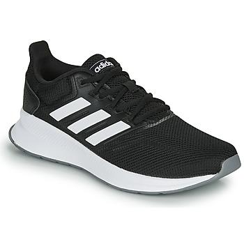 Boty Ženy Běžecké / Krosové boty adidas Performance RUNFALCON Černá / Bílá