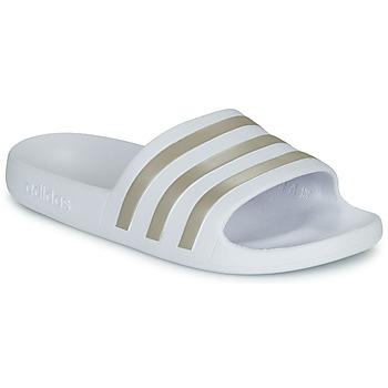 Boty Ženy pantofle adidas Performance ADILETTE AQUA Bílá