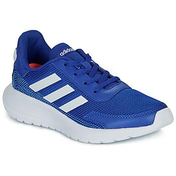 Boty Chlapecké Nízké tenisky adidas Performance TENSAUR RUN K Modrá / Bílá