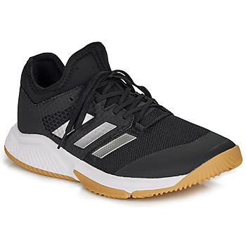 Boty Muži Sálová obuv adidas Performance COURT TEAM BOUNCE M Černá / Bílá
