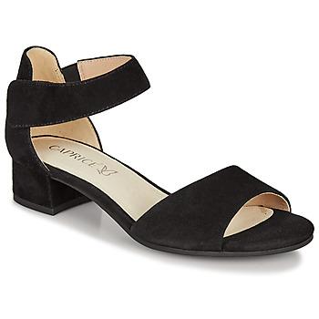 Boty Ženy Sandály Caprice BESSINA Černá