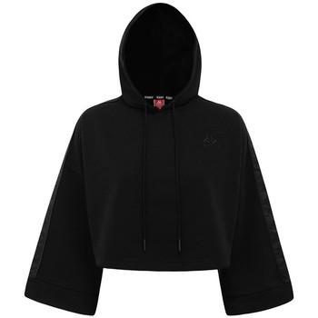 Textil Ženy Mikiny Kappa Sweatshirt femme  Authentic Allas noir