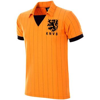 Textil Muži Trička s krátkým rukávem Copa Football Maillot rétro Pays-Bas 1983 orange