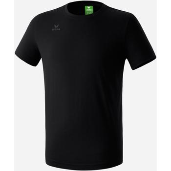Textil Chlapecké Trička s krátkým rukávem Erima T-shirt  Teamsport noir