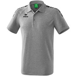 Textil Polo s krátkými rukávy Erima Polo  5-C Essential gris