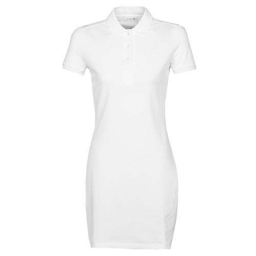 Textil Ženy Krátké šaty Lacoste EUGENIE Bílá