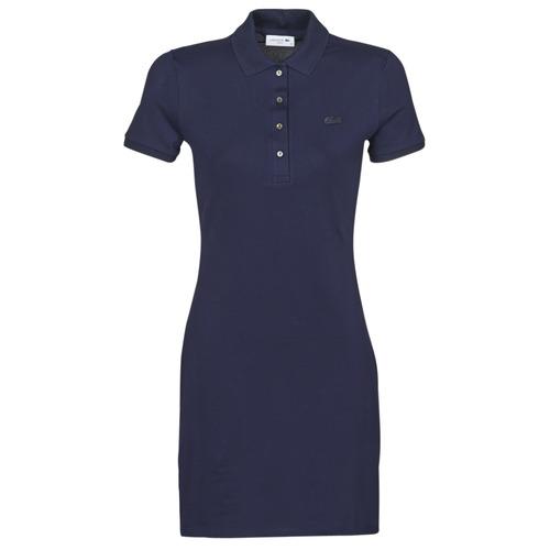 Textil Ženy Krátké šaty Lacoste SOLENE Tmavě modrá