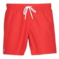 Textil Muži Plavky / Kraťasy Lacoste JEANNAH Červená