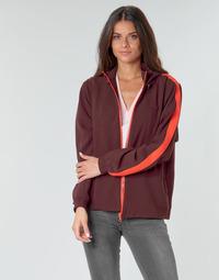 Textil Ženy Mikiny Lacoste AMINA Bordó