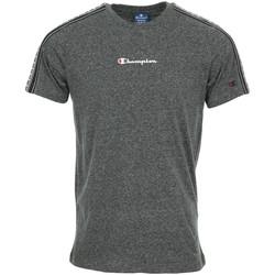 Textil Muži Trička s krátkým rukávem Champion Crewneck T-Shirt Šedá