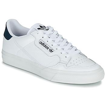 Boty Nízké tenisky adidas Originals CONTINENTAL VULC Bílá