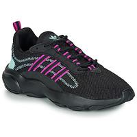 Boty Ženy Nízké tenisky adidas Originals HAIWEE W Černá / Fialová
