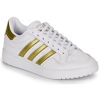 Boty Ženy Nízké tenisky adidas Originals MODERN 80 EUR COURT W Bílá / Zlatá