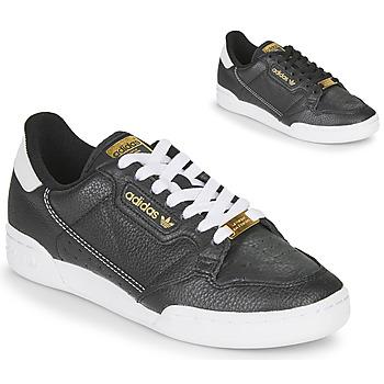 Boty Ženy Nízké tenisky adidas Originals CONTINENTAL 80 Černá