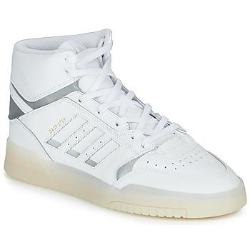 Boty Muži Kotníkové tenisky adidas Originals DROP STEP Bílá