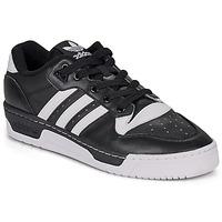 Boty Muži Nízké tenisky adidas Originals RIVALRY LOW Černá / Bílá