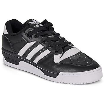 Boty Nízké tenisky adidas Originals RIVALRY LOW Černá / Bílá