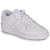 Boty Ženy Nízké tenisky adidas Originals RIVALRY LOW W Bílá