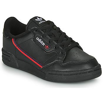 Boty Děti Nízké tenisky adidas Originals CONTINENTAL 80 C Černá