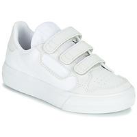 Boty Děti Nízké tenisky adidas Originals CONTINENTAL VULC CF C Bílá / Béžová
