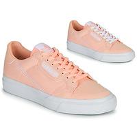 Boty Dívčí Nízké tenisky adidas Originals CONTINENTAL VULC J Růžová