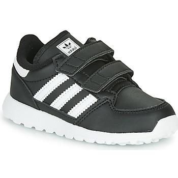 Boty Děti Nízké tenisky adidas Originals FOREST GROVE CF I Černá