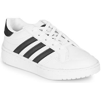 Boty Děti Nízké tenisky adidas Originals Novice C Bílá / Černá
