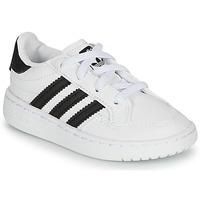 Boty Děti Nízké tenisky adidas Originals NOVICE EL I Bílá / Černá