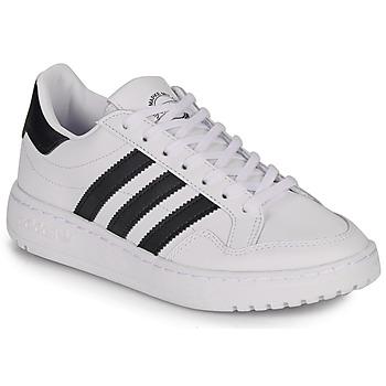 Boty Děti Nízké tenisky adidas Originals Novice J Bílá / Černá