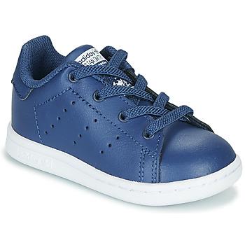 Boty Chlapecké Nízké tenisky adidas Originals STAN SMITH EL I Tmavě modrá