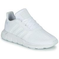 Boty Chlapecké Nízké tenisky adidas Originals SWIFT RUN C Bílá
