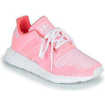 adidas Tenisky Dětské SWIFT RUN J - Růžová