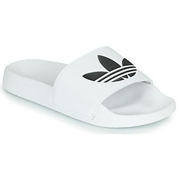 Boty pantofle adidas Originals ADILETTE LITE Bílá