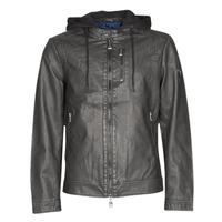 Textil Muži Kožené bundy / imitace kůže Guess VINTAGE ECO-LEATHER JKT Černá